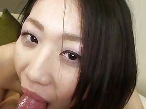 Subtitles uncensored Japanese blowjob and sex Point of view