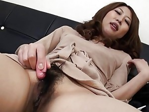 Solo action with a very adorable Chinese honey whos masturb
