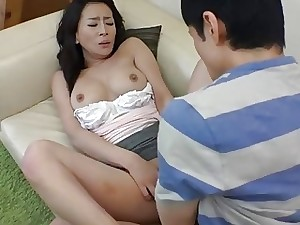 Asian mom gets a mouthful for teasing the kinky boy