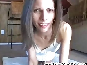 Ass-fuck fluid pie with molten Mummy on cam