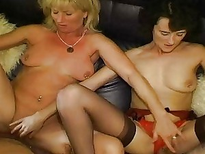 Fledgling swingers are filmed with each others wives
