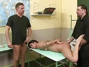 Schoolgirl gets tied about with an increment of fucked hard