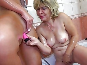 Oldnanny Czech old and young lesbians lesbian play