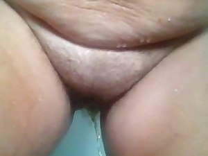 Slave pissing in shower